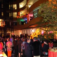 Art in Bloom, an exotic themed fundraiser in the Atrium