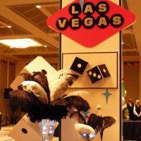 Vegas style display