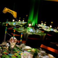 Colourful gaming centerpieces created