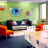 A playful boardroom makeover for Rare Indigo DMC