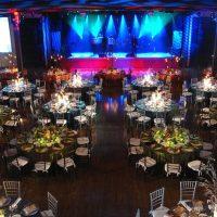 A milestone birthday celebration at the Commodore Ballroom.