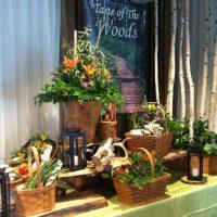 Buffets showcasing Victoria's fresh food abundance